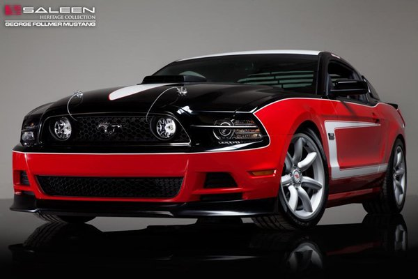 Mustang George Follmer Edition - новинка Saleen
